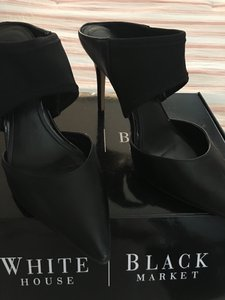 White House | Black Market Stiletto Black Pumps