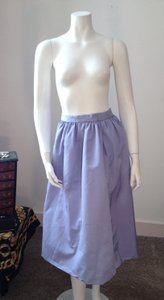 Other Silk Vintage Vintage Blue Skirt Periwinkle