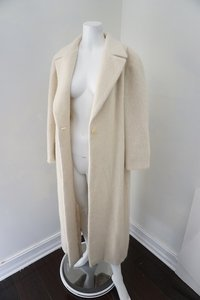 Zara Women Winter Wool Alpaca Trench Coat