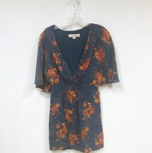 Anthropologie short dress Blue, Green, Brown, Orange, Yellow, Red on Tradesy