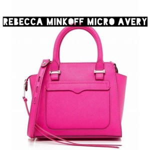 Rebecca Minkoff Tote Pink Preppy Cross Body Bag