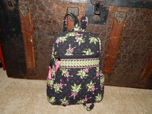 Vera Bradley Handbag New Hope Cancer Ribbon Backpack