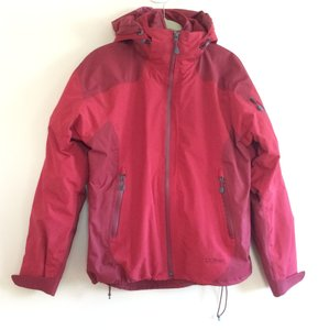 L.L.Bean 3-in-1 Waterproof red Jacket