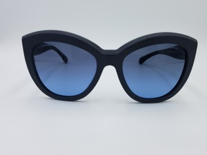 e14a385bbe Chanel Signature Butterfly Matte Blue Chanel Sunglasses 5332-A c.1462 S2 56