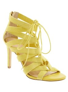 Ralph Lauren Lacy Banana Republic Yellow Sandals