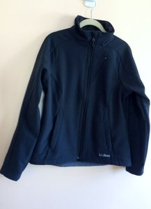 L.L.Bean Softshell Fleece-lined black Jacket