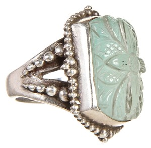Stephen Yearick Stephen Dweck Sterling Silver Ring (Size 6)