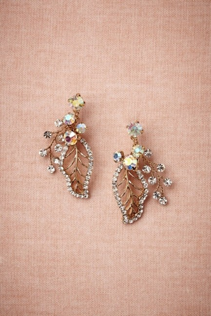 Item - Gold Floriculture Earrings