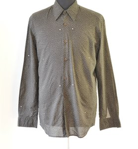Louis Vuitton Men Monohram Dress Shirt