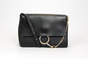 Chloé Large Leather Chain Calf Shoulder Bag