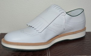 Gucci Mens Golf Golf Oxford White Formal