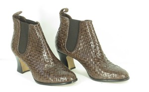 Fieramosca Basketweave brown/grey Boots