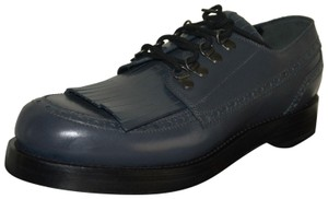 Gucci Oxford Mens Leather Grey Formal
