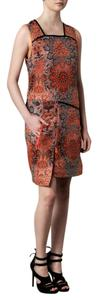 Helmut Lang short dress orange on Tradesy