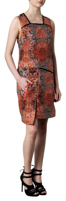 Preload https://item1.tradesy.com/images/helmut-lang-orange-medalion-jacquard-for-women-knee-length-short-casual-dress-size-2-xs-1997405-0-0.jpg?width=400&height=650