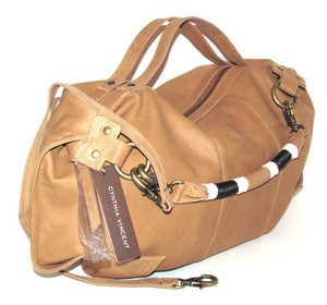 Twelfth St. by Cynthia Vincent Satchel in Tobacco