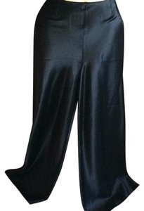 John Galliano Super Flare Pants Black Satin