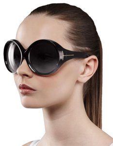 Tom Ford Ali round oversized sunglasses