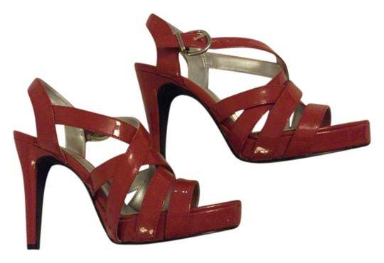 Hot Tomato Size 7 Heels Fashion Wear Heels Red Formal