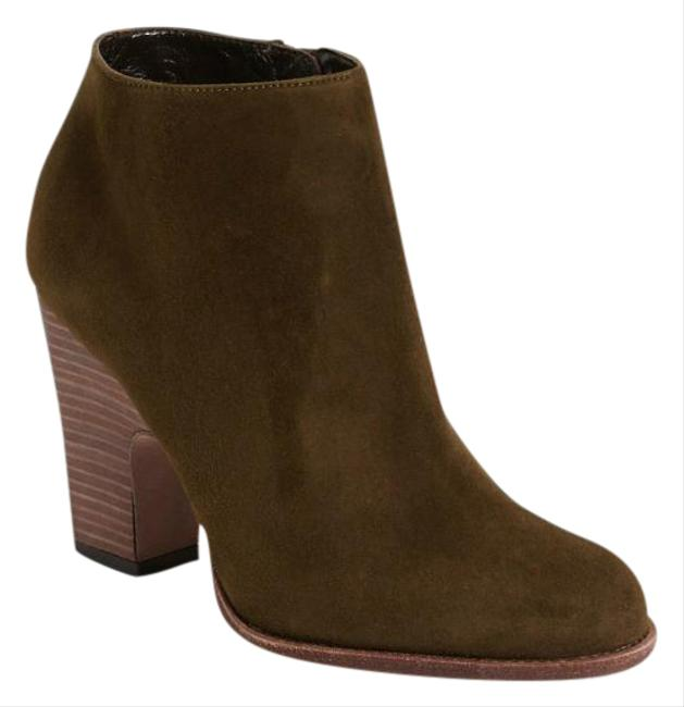 Item - Olive Green New Demigran Suede Ankle Boots/Booties Size US 10.5 Regular (M, B)