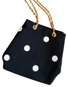 Ann Taylor Polka Dot Evening Cross Body Bag