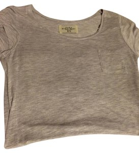 Zara Basic T Shirt Gray