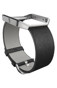 fitbit Fitbit Leather Watch Band For Fitbit Blaze Watch Size Small