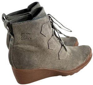 Sorel Lace-up Waterproof Wedge Boot MAJOR BROWN Boots