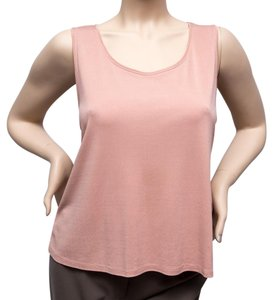 Eileen Fisher Blush Essential Top Pink