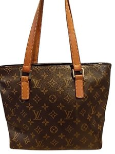 Louis Vuitton Monogram Leather Vintage Tote in Monogramed