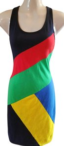Ralph Lauren short dress Multi Cotton Tennis R-lr Tank Patchwork on Tradesy