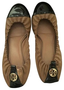 Tory Burch Black Tan black/tan Flats
