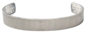 Tiffany & Co. Tiffany & Co. Sterling Silver Coin-Edge Cuff Bracelet