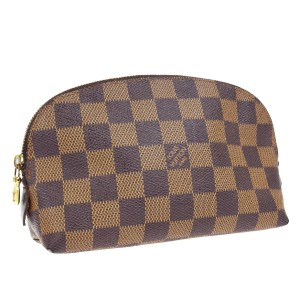 Louis Vuitton Louis Vuitton Damier Ebene Cosmetic Pouchette