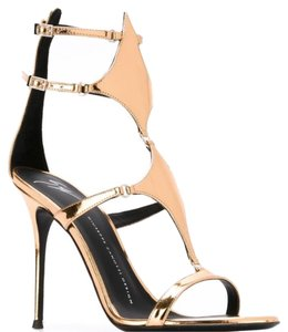 Giuseppe Zanotti Rose Gold/Bronze toned Pumps