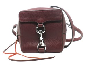 Rebecca Minkoff Structured Square Mini Leather Cross Body Bag