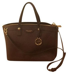 Henri Bendel Satchel in Plum