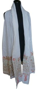 Johnny Was Linen Asymmetric Cardigan Boho Tunic