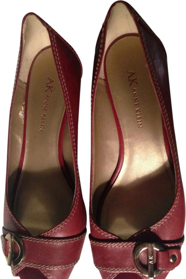 Anne Klein Shoes Red  Size