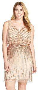Adrianna Papell Beaded Party Cocktail Dress