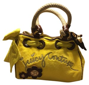 Juicy Couture Satchel in Yellow