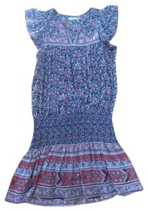 Ulla Johnson short dress print on Tradesy