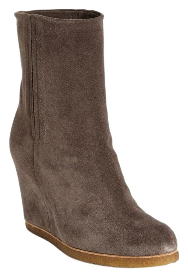 a598d489eb1a Stuart Weitzman Seal Bootscout Wedge Ankle Boots Booties Size US 5 ...
