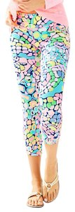 Lilly Pulitzer Capris Multi Gypsy Jungle