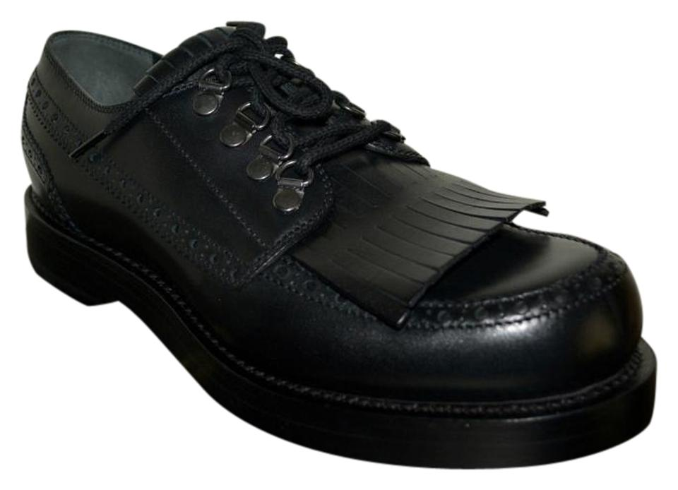 448e1409e Gucci Black Mens Goodyear Leather Oxfords Eu 44.5 Formal Shoes. Size: US ...