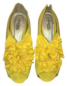 Charlotte Russe Yellow Pumps