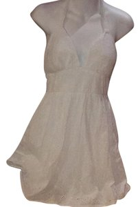 Alyn Paige short dress off white/white Eyelet Above Knee on Tradesy