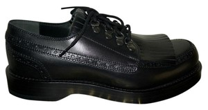 Gucci Oxford Mens Leather Black Formal
