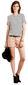 Anthropologie Cuffed Shorts Peach