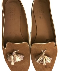 Barneys New York Brown Flats